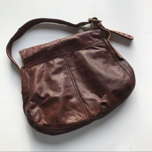 Lucky Brand Bags - Lucky Brand Shoulder Satchel Saddle Bag Leather